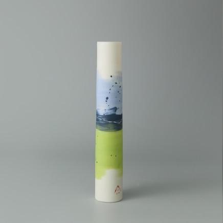 Ali Tomlin AT19: Single Stem - Pansy Porcelain H: 15 cm
