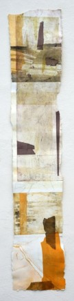 Jeremy Gardiner Gad Cliff, August, 2012 Monoprint 160 x 30 cm POA