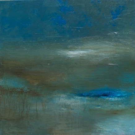 Debra Royston Dusk Shadows Mixed media on Canvas 80 x 80 cm