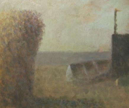 Nicholas Turner RWA, Beach and Boat