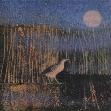 Catherine Hyde The Wind Among The Reeds, 2018 Acrylic on canvas 30.5 x 30.5 cm