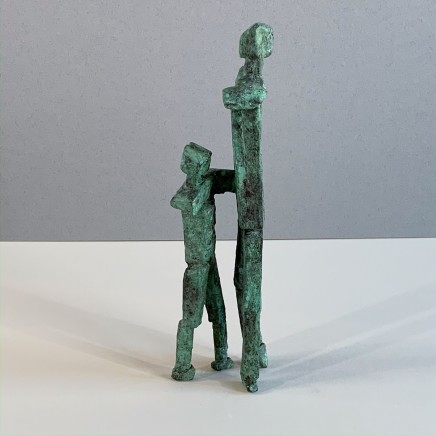 Neil Wood Mother and Child Unique Bronze 2019 30 x 10 cm