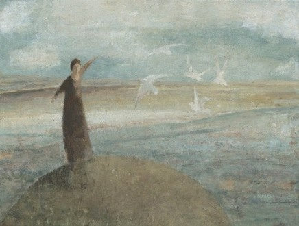 David Brayne RWS, Grey Gulls