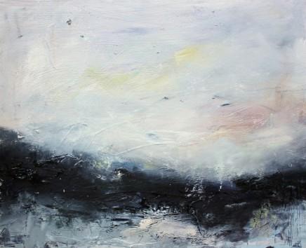 Georgie Mason Plateau Oil on board 23 x 27 cm
