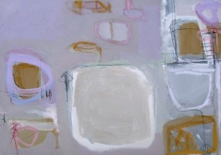 Stephanie Stow Pink Afternoon Acrylic on canvas 70 x 50 cm