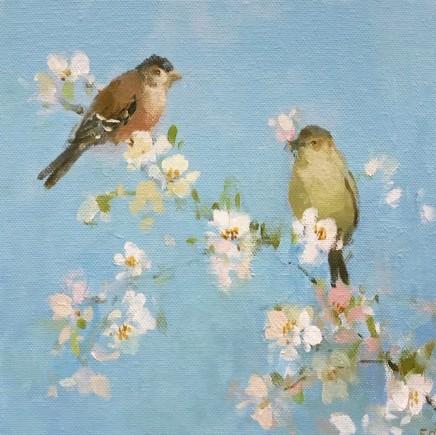 Fletcher Prentice, Chaffinches on Blossom