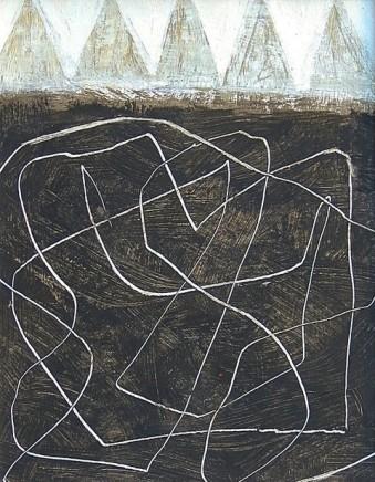 Malcolm Taylor  Giza  Acrylic on board  22.5 x 17 cm
