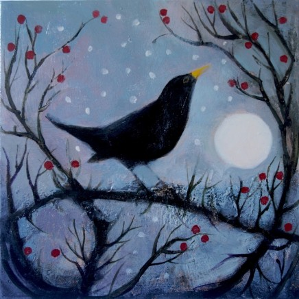 Catherine Hyde, Twilight's Trailing Edge (from 'Slowed down Blackbird' by Alice Oswald)