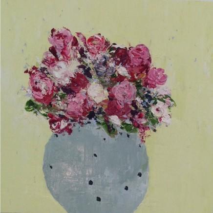 Lorraine Wake Present Oil on canvas 40 x 40 cm