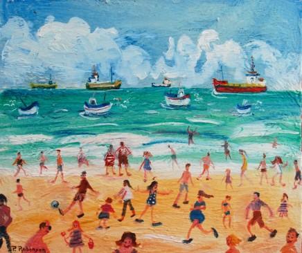 Paul Robinson, Beach
