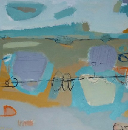 Stephanie Stow Whatever the Weather Acrylic on canvas 60 x 60 cm