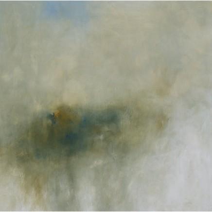 Debra Royston Silence Mixed media on Canvas 100 x 100 cm