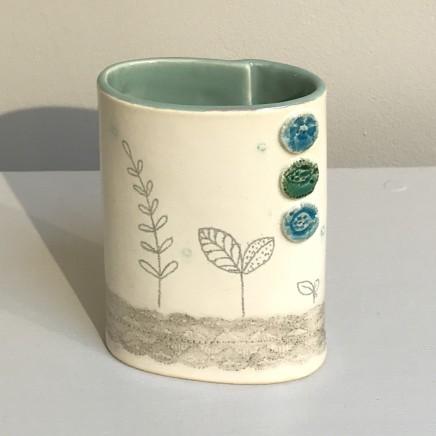 Emer O'Sullivan, Small Vase Grey