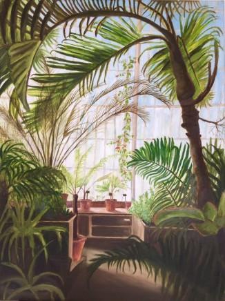 Alice MacMillan Palm House, Kew Gardens Oil on canvas 84 x 60 cm