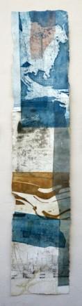 Jeremy Gardiner Seacombe, July, 2012 Monoprint 160 x 30 cm POA