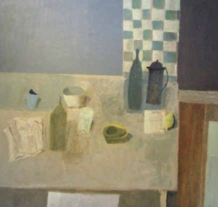 Nicholas Turner RWA, Table with Avocado