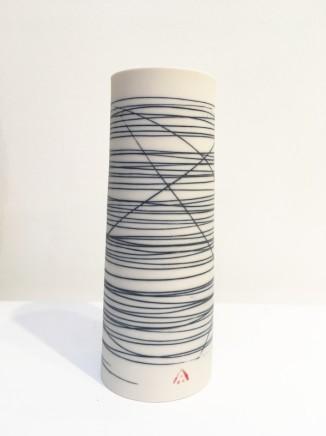 Ali Tomlin Blue and white medium vase Porcelain