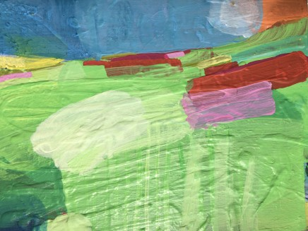Rose Shorrock Manton Hollow Acrylic on panel 18 x 24 cm