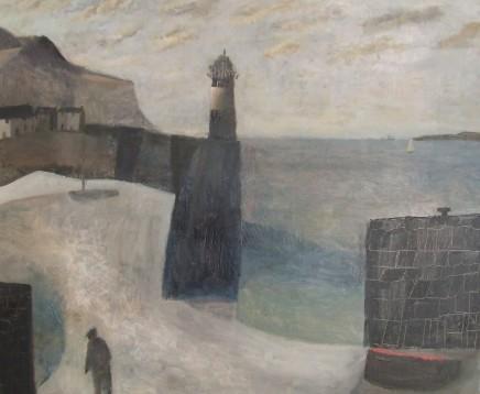 Nicholas Turner RWA, Figure and Lighthouse