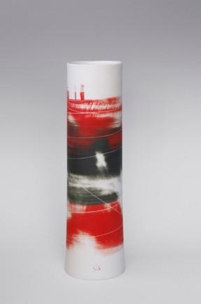 Ali Tomlin, Tall cylinder red black