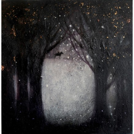 Catherine Hyde, The Woods are Lovely, Dark and Deep (from 'Stopping by the Woods on a Snowy Evening' by Robert Frost)