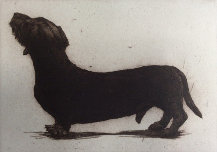 Helen Fay Sparks Etching Edition of 45, AP 12 x 17 cm