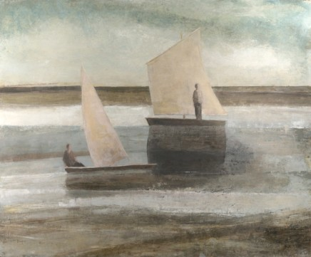 David Brayne RWS, Two Boats