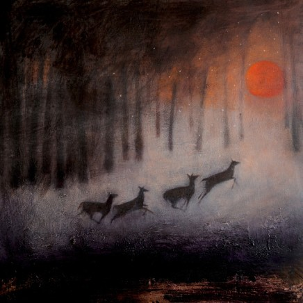 Catherine Hyde The Running of The Dear