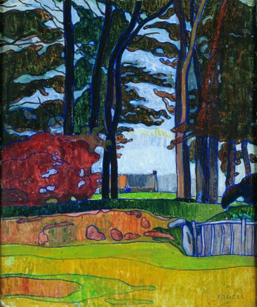 Charles FILIGER Paysage breton, 1890-1891