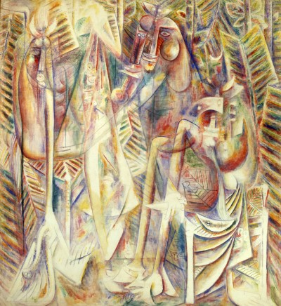 Wifredo LAM Harpe astrale, 1944