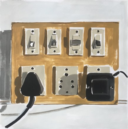 Geoff Tibbs Oil on canvas paper, 76 x 76cm