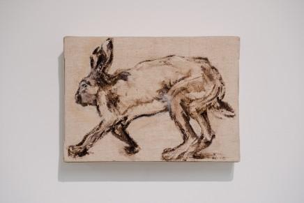 Robert James Anderson, Running Hare, 2019