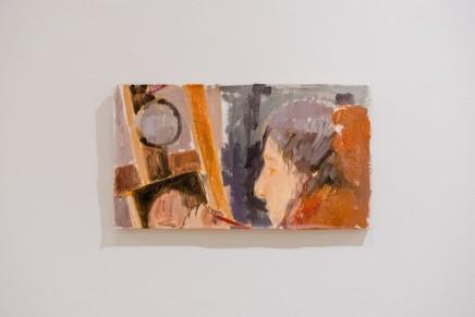 Uta Patinkin, Titzra is painting, 2019