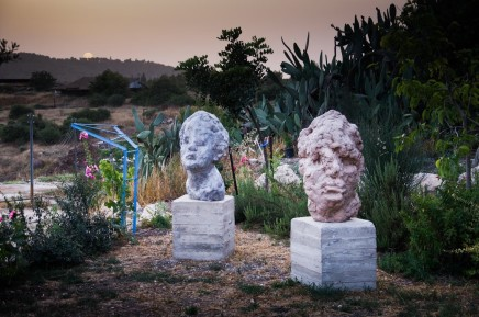 Avner Levinson Outdoor sculptures, 2019 Hydrocal