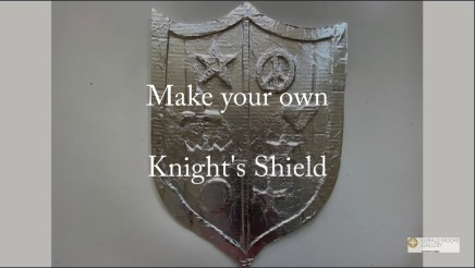 Make a knight's shield