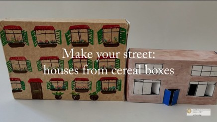 Make a cereal box street
