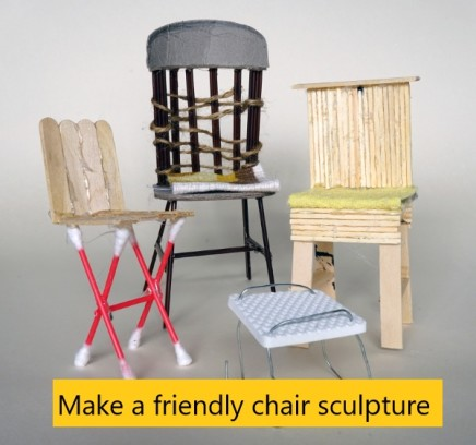 Friendly chair sculptures