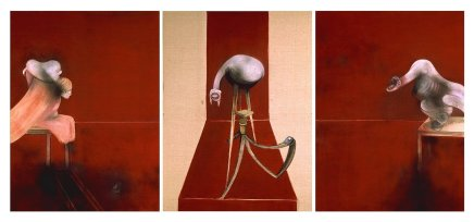 Francis Bacon, Second Version of Triptych 1944, 1988