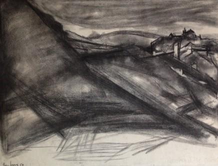 David Bomberg, Ronda Landscape, 1954