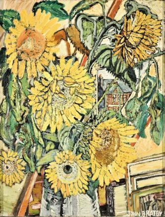 , Sunflowers, 1967/8