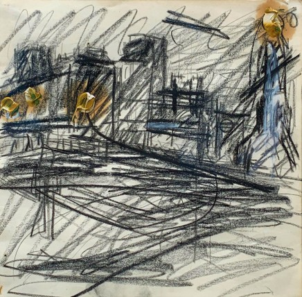 Frank Auerbach, Mornington Crescent, 1973-4