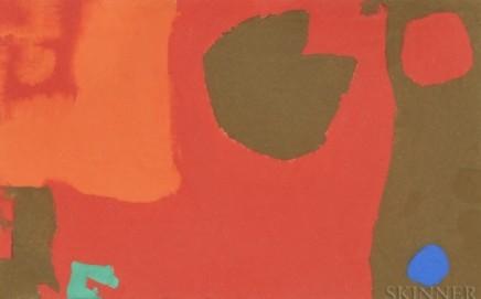 Patrick Heron, Mini Mini 9 , 1972