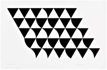 Bridget Riley, Bagatelle 1, 2015