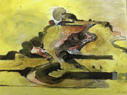 Graham Sutherland, Untitled, landscape in Pembrokeshire, 1974