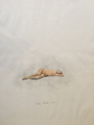 Antony Donaldson, Nude drawing, 1971