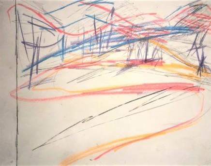 Frank Auerbach, Primrose Hill, 1961