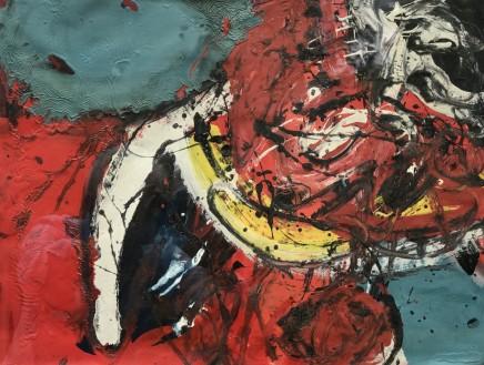 Alan Davie, Red's Joy, 1958