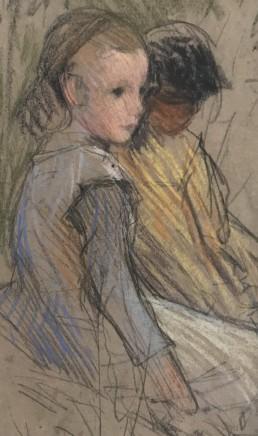 Sir George Clausen, Study of Farm Girl, c.1889