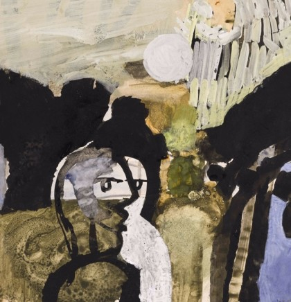 Two Figures Conversing, 1959