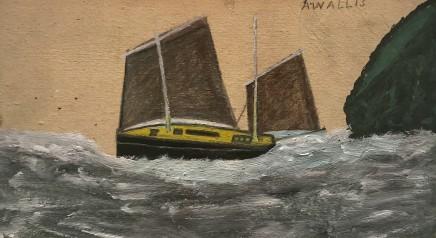 Alfred Wallis, Sailing Boat